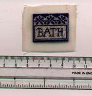Miniature embroidery